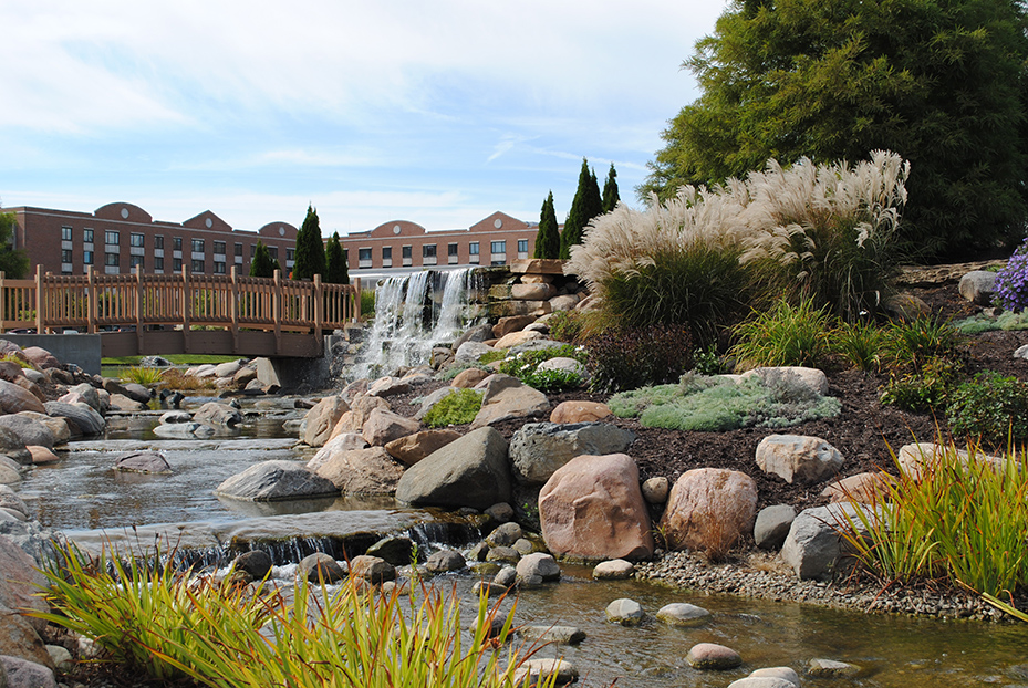 Marquette Landscape Architect Waterfall Water Feature
