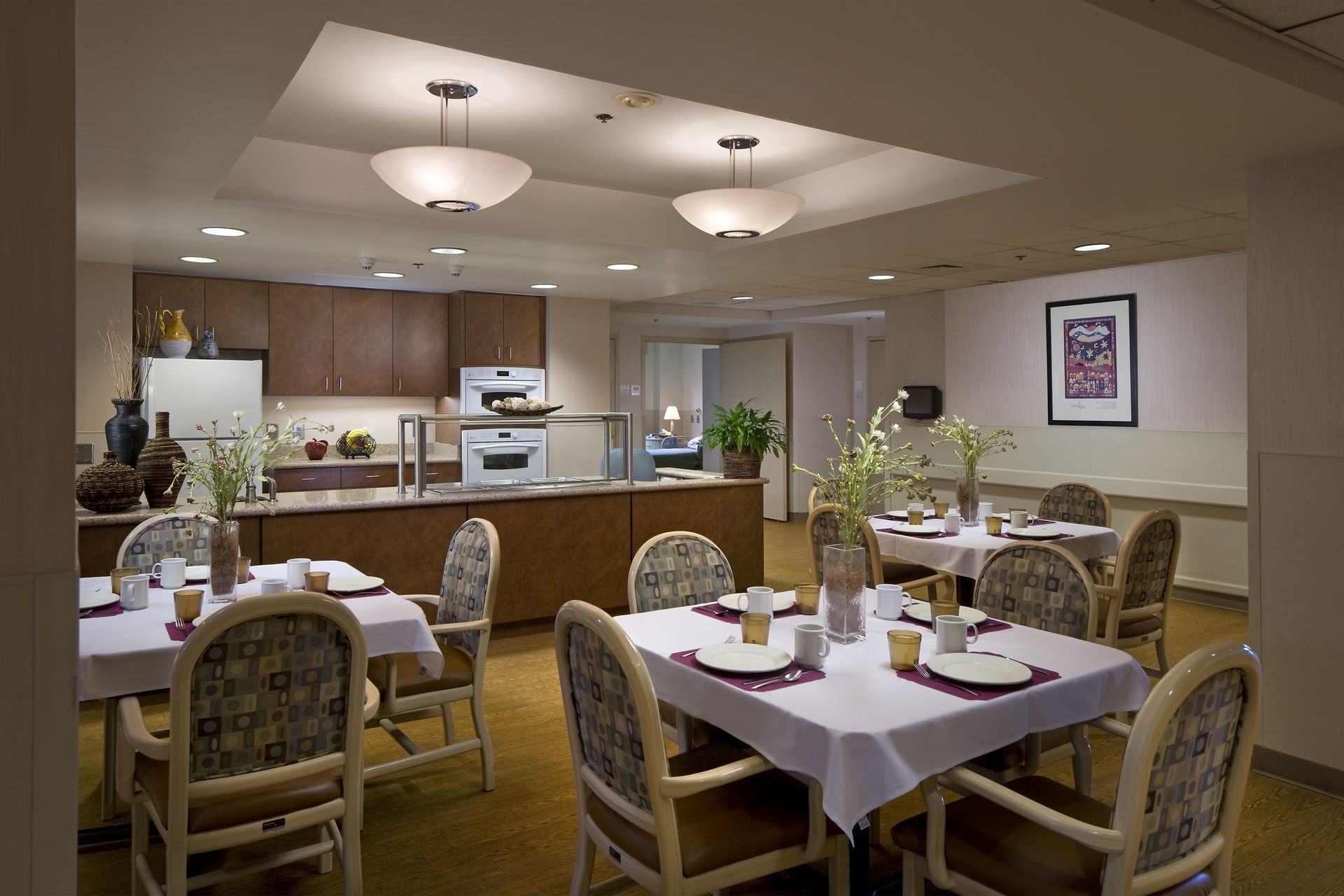 Breman Jewish Home Skilled Nursing Caual Dining THW Design Healthcare