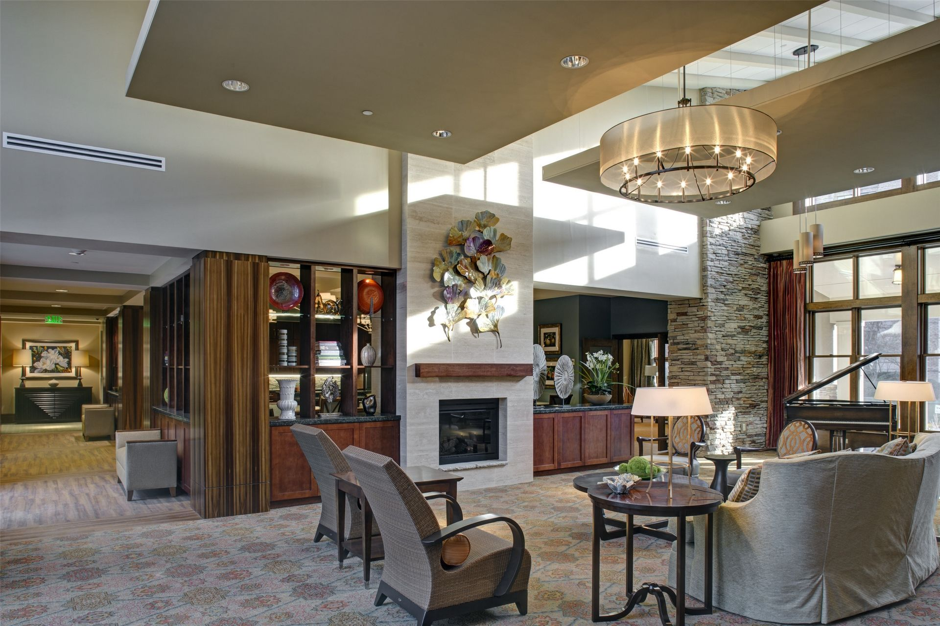 Cohen Rosen House, Rockville | Charles E. Smith | Assisted Living, Memory Care Design THW Interior 2