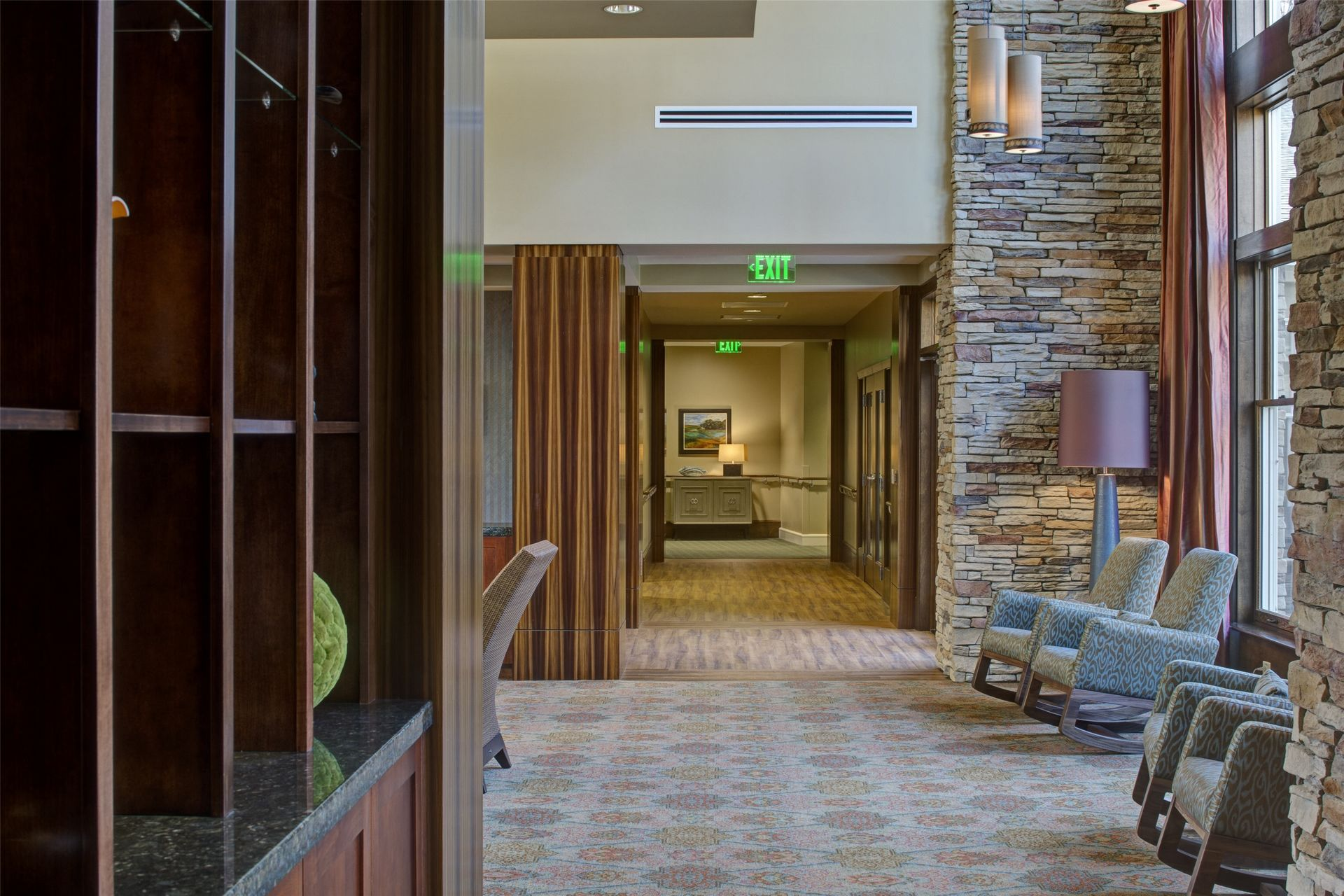 Assisted Living, Memory Care Design THW Lobby