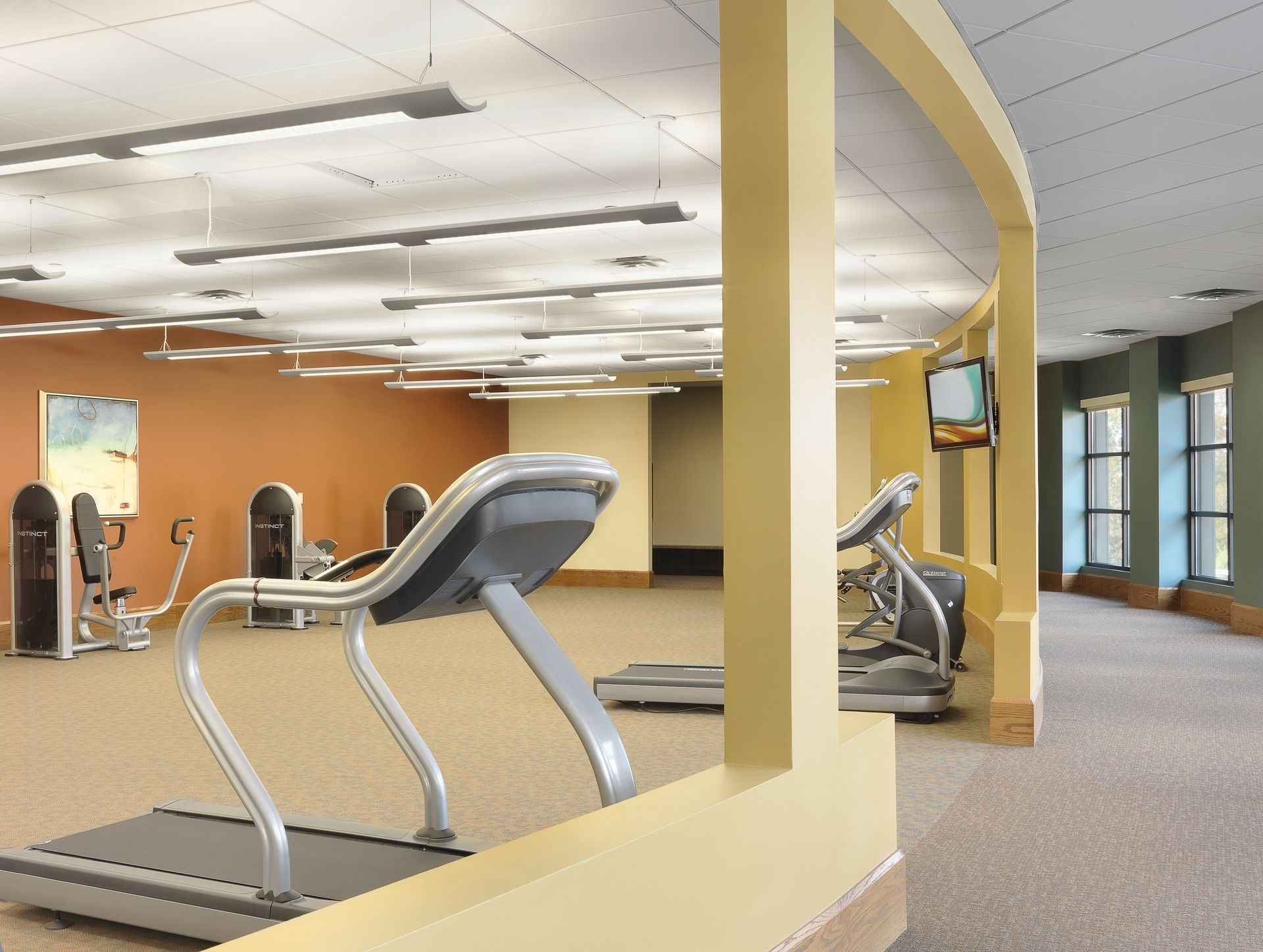 Friendship Village CCRC THW Senior Living Design Fitness Room