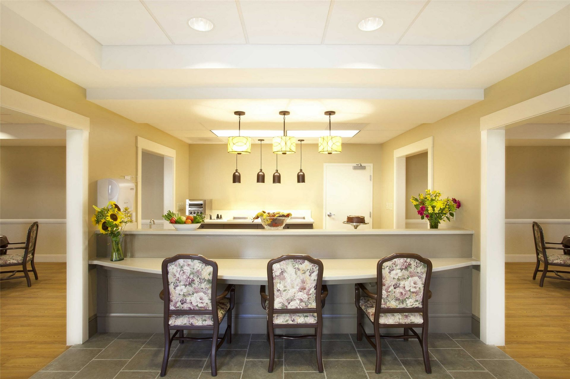 Kahl Home Skilled Nursing Design Cafe