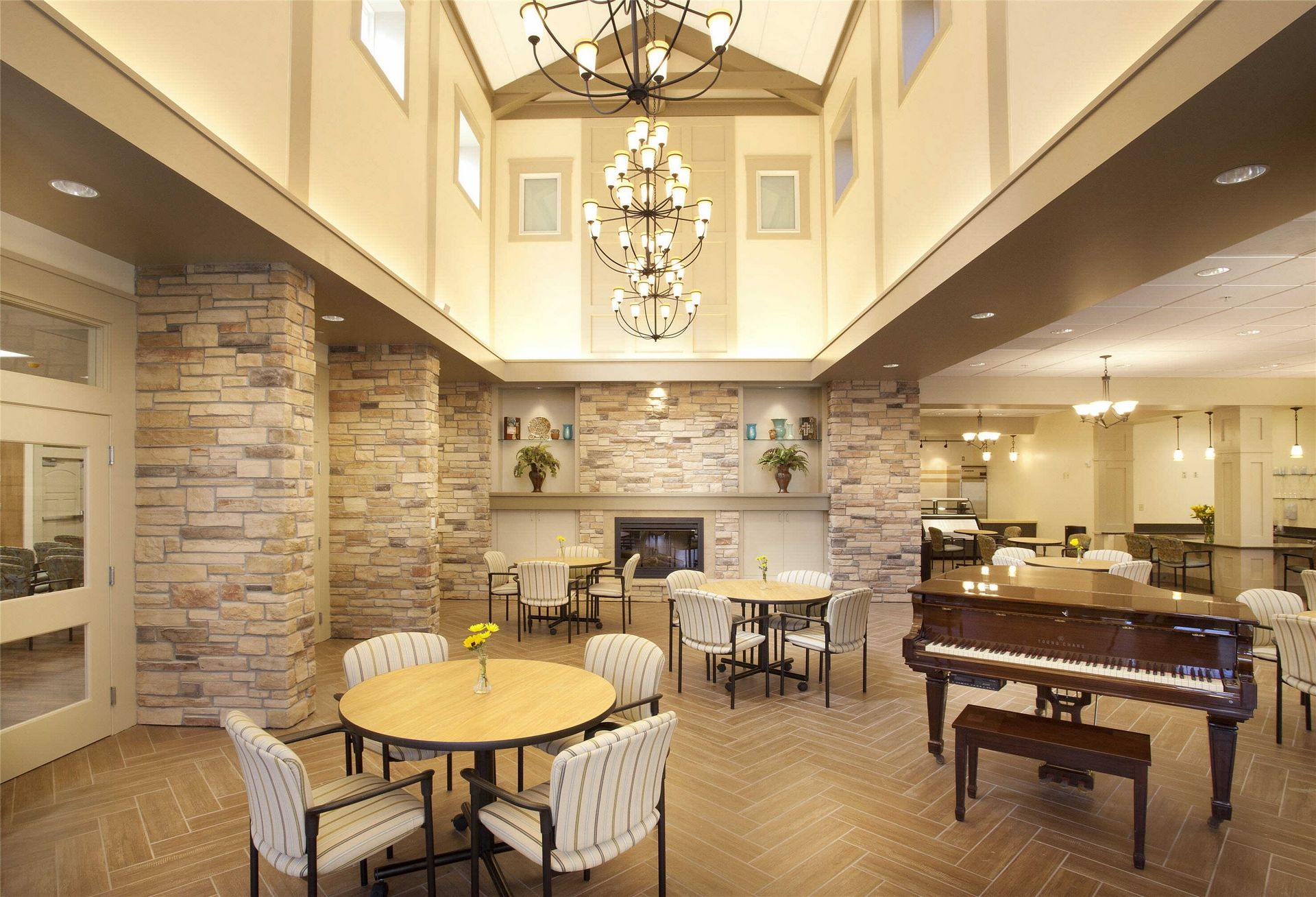 Kahl Home Skilled Nursing Design Music Dining