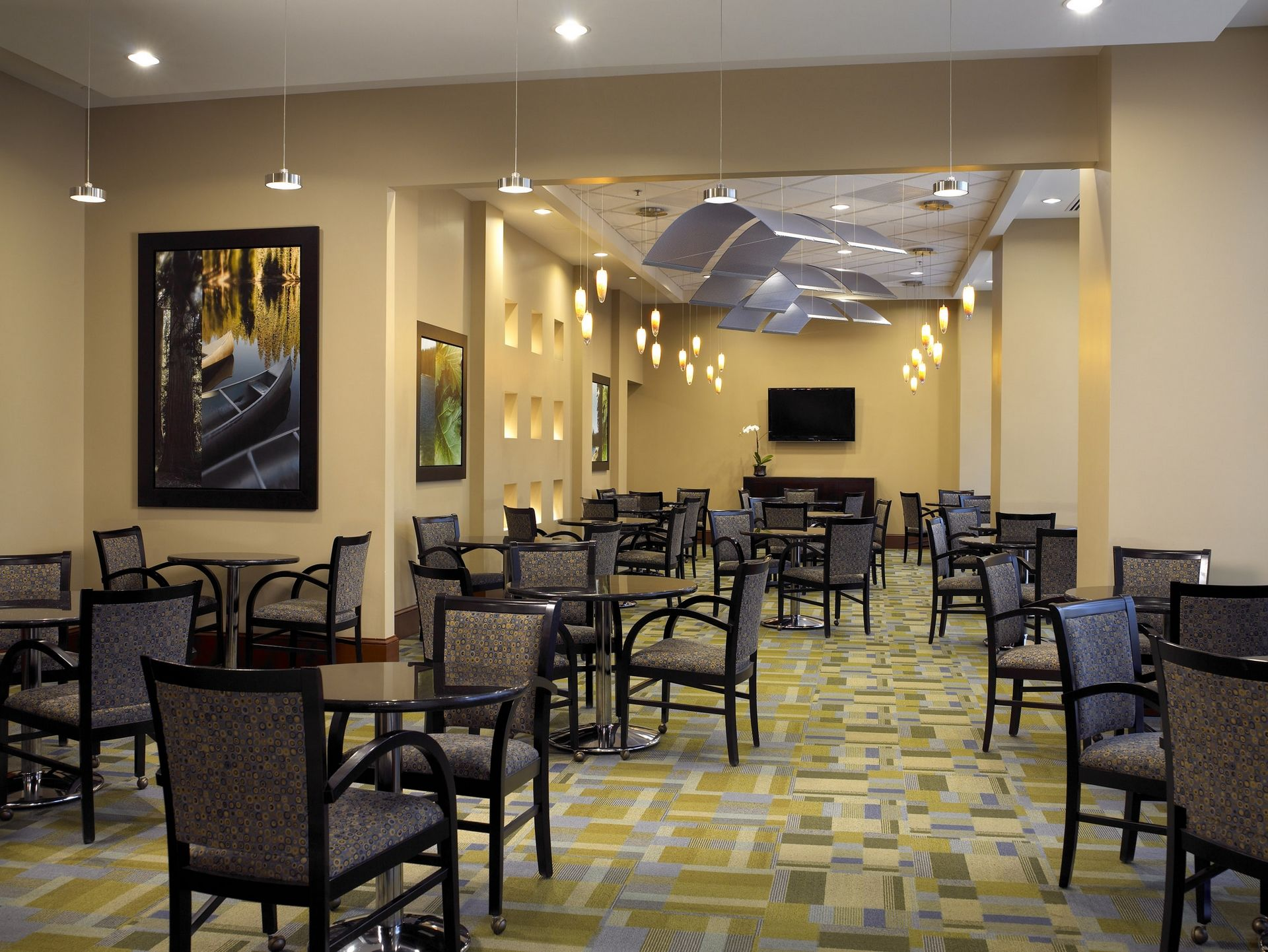 Lenbrook THW Senior Living Design CCRC Public Space