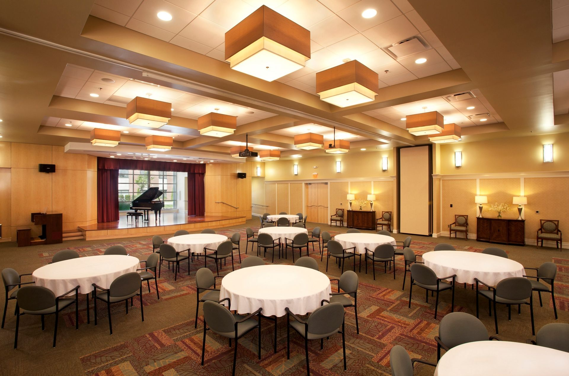 THW | Marquette | Foundation Room | Senior Living Design