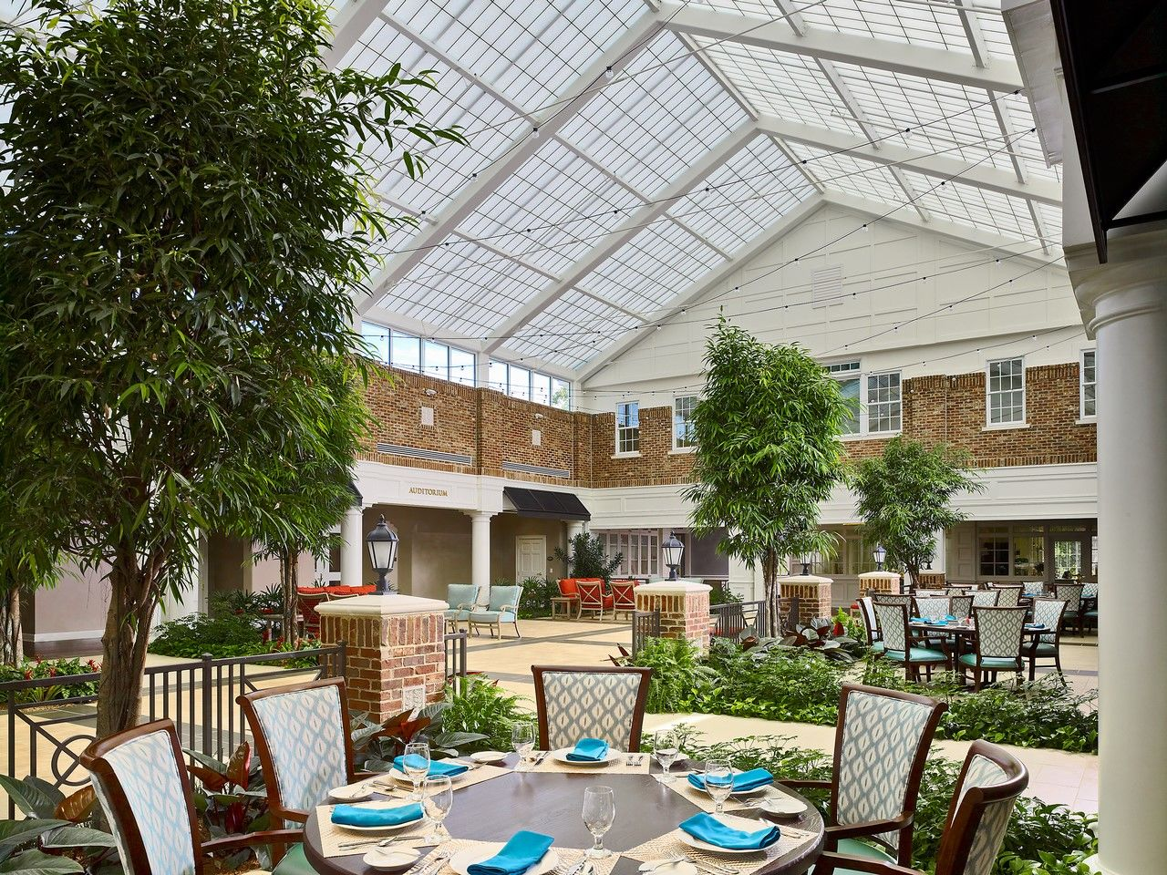 Still Hopes Episcopal Retirement Community | Renovation and Expansion THW Design Dining