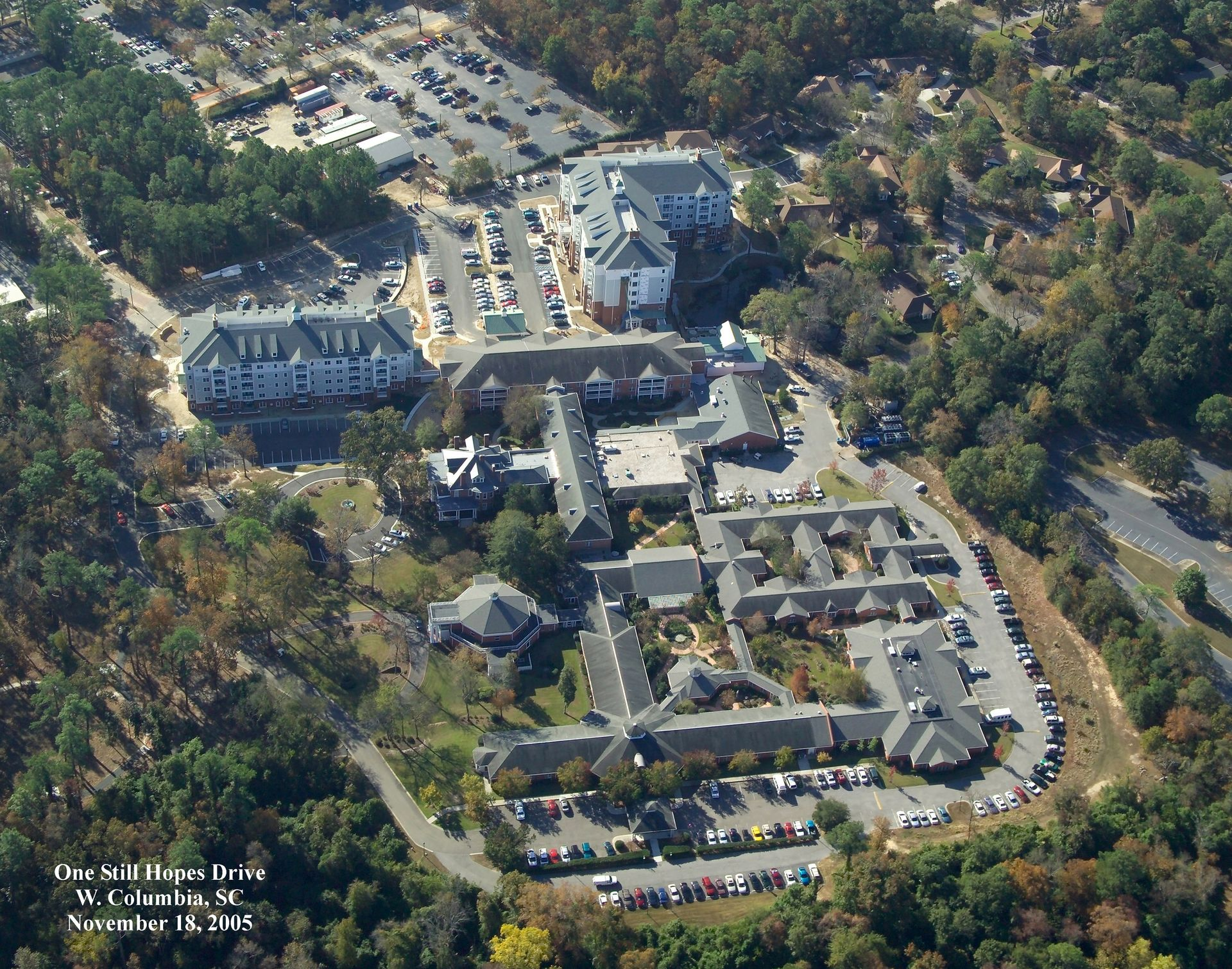 Still Hopes Episcopal Retirement Community | Renovation and Expansion THW Aerial