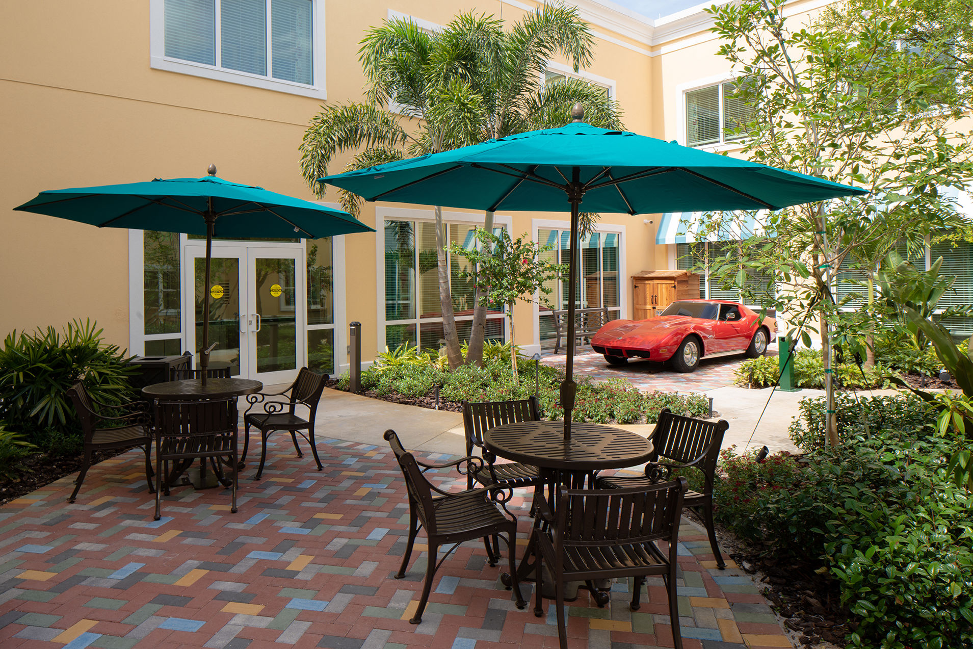 Symphony Delray Senior Living Memory Care StingRay Corvette Senior Living Architects