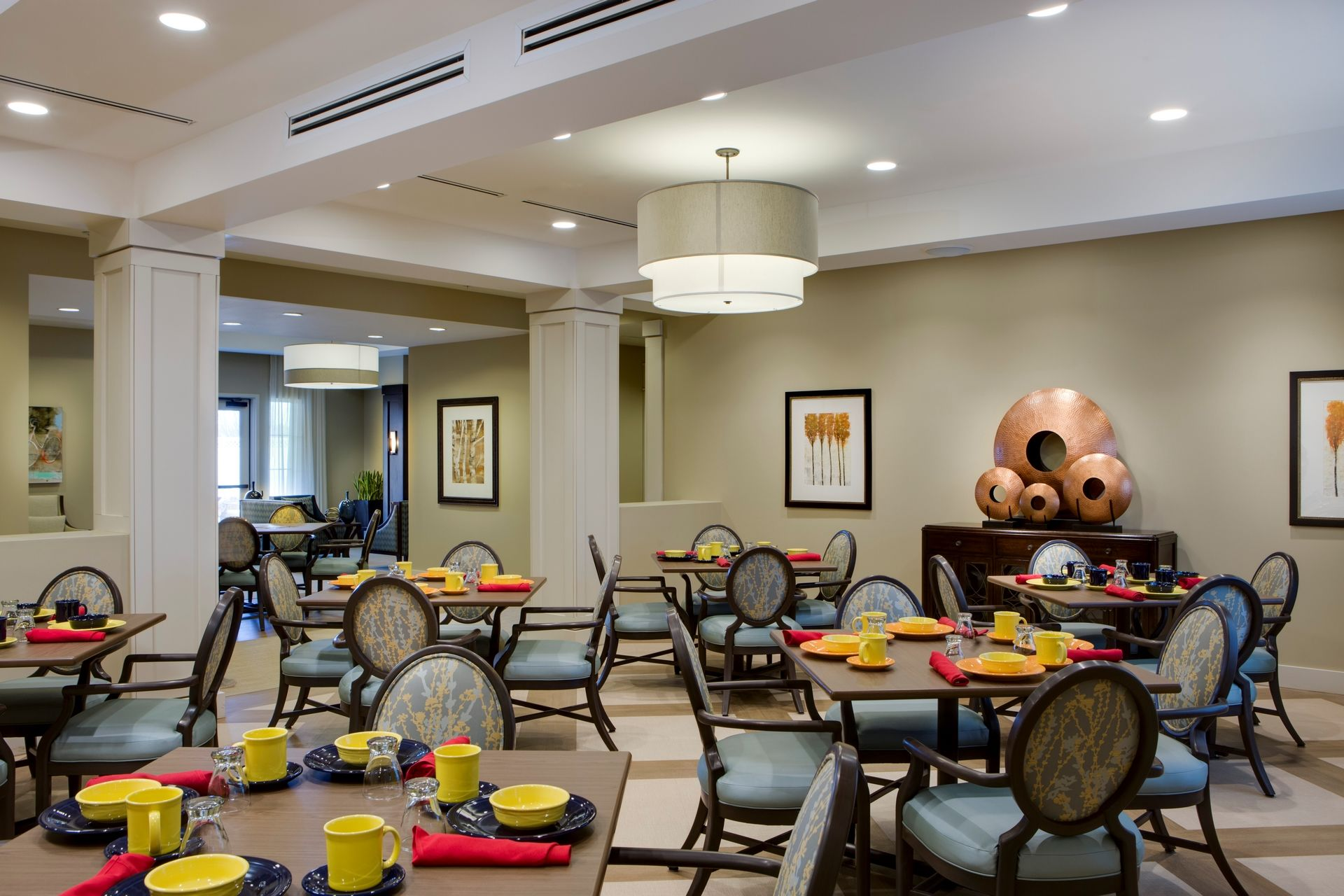 Greer Memory Care Design THW Casual Dining