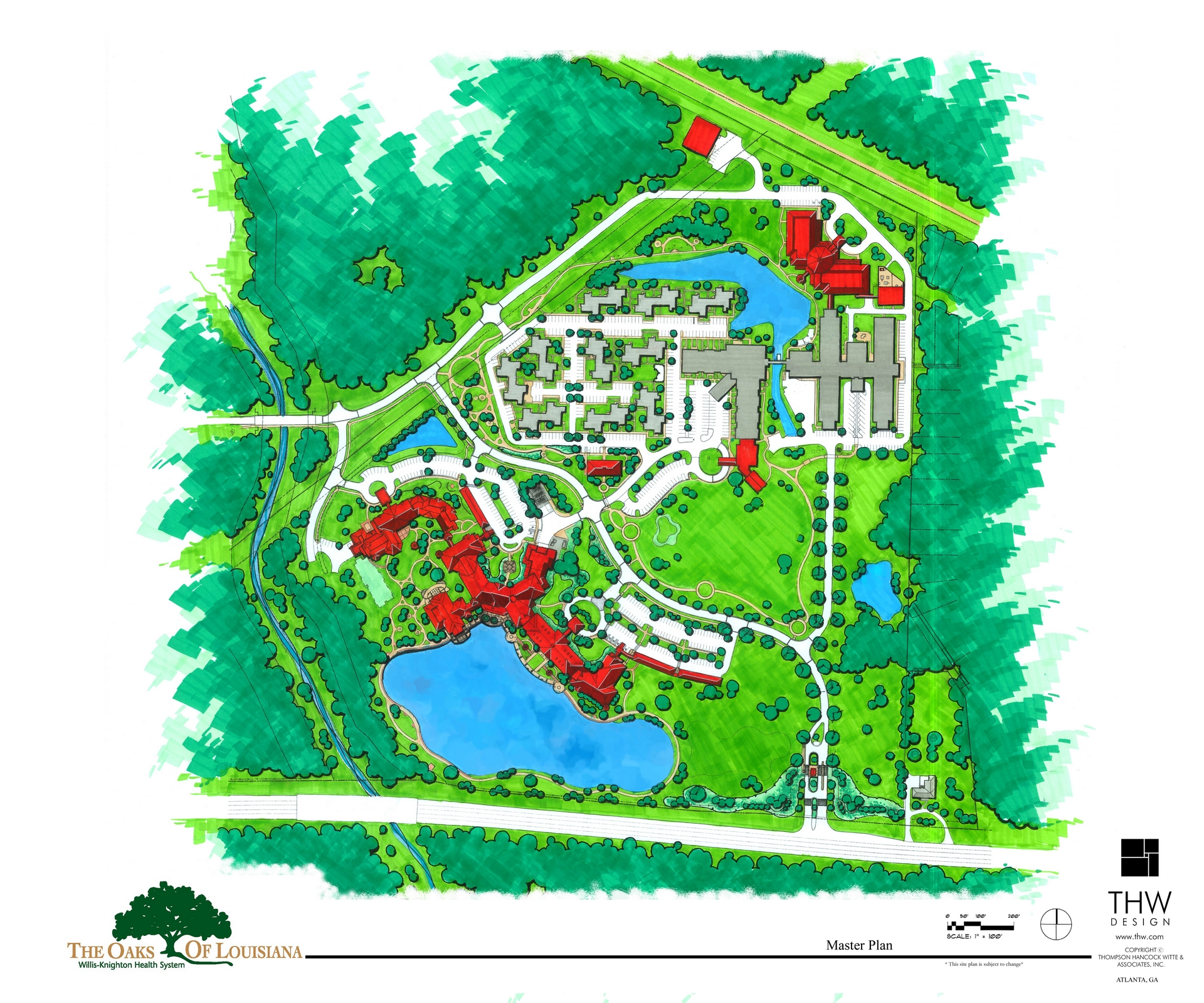Senior Living Master Planning Landscape Architecture