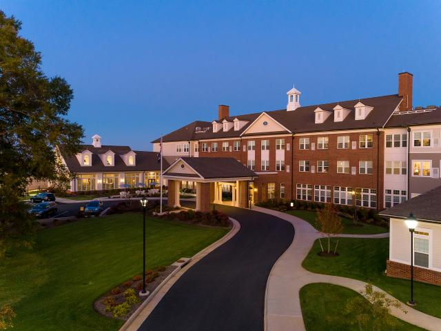 Culpeper Residential Living Architecture THW Design Senior Living