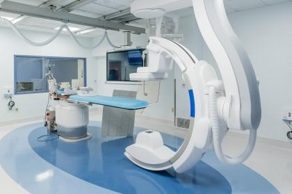 Interventional Radiology Lab Metropolitan Methodist Hospital