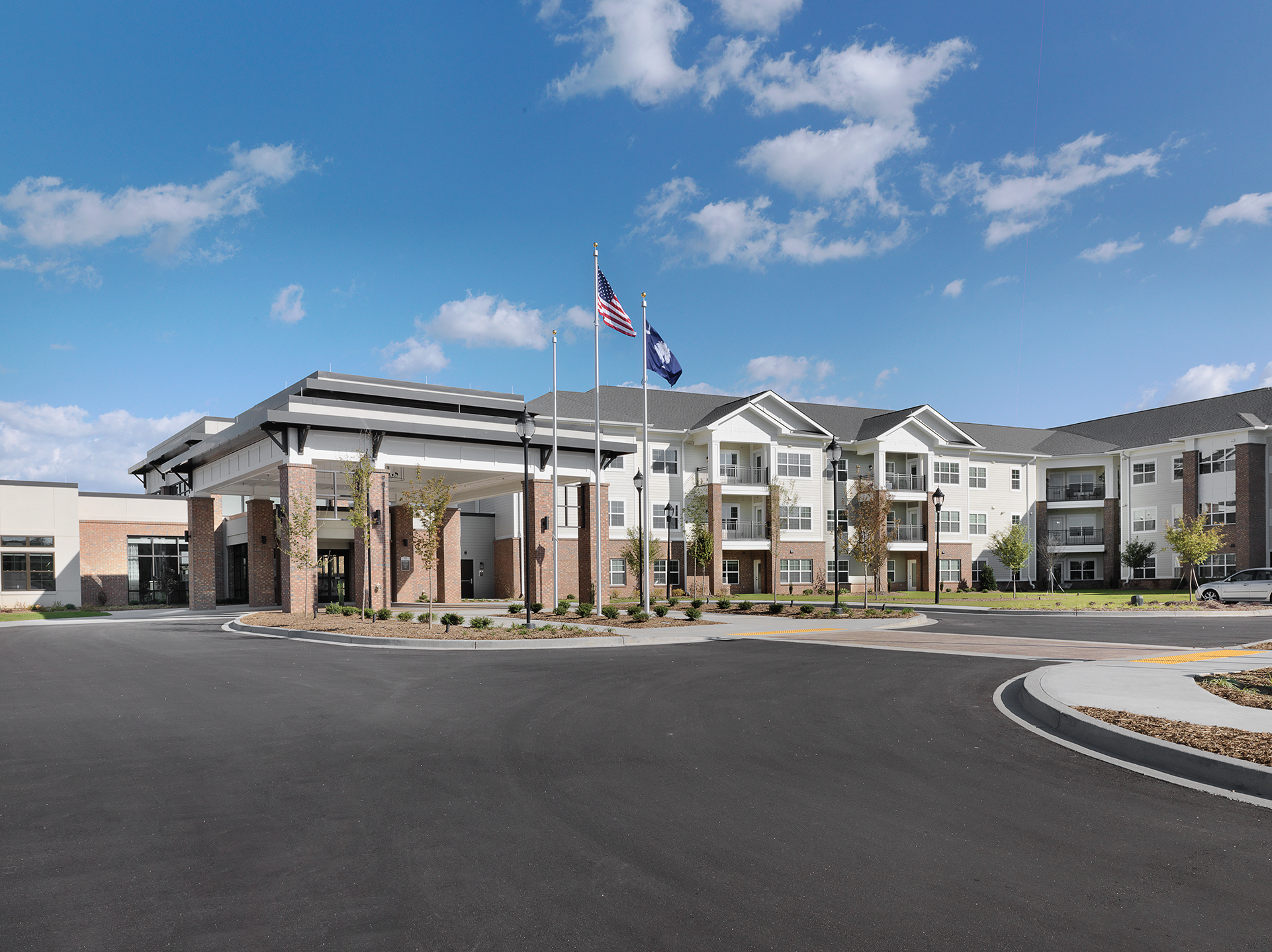 Rolling Green Village Greenville South Carolina THW Design Senior Living Architecture Design