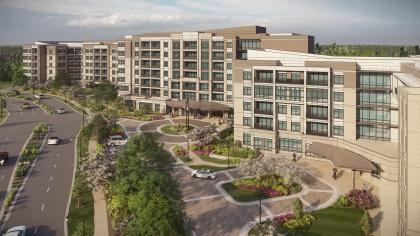 Kisco Gaithersburg, Kisco Senior Living, THW Design Washingtonian North Senior Living Gaithersburg Maryland Architecture