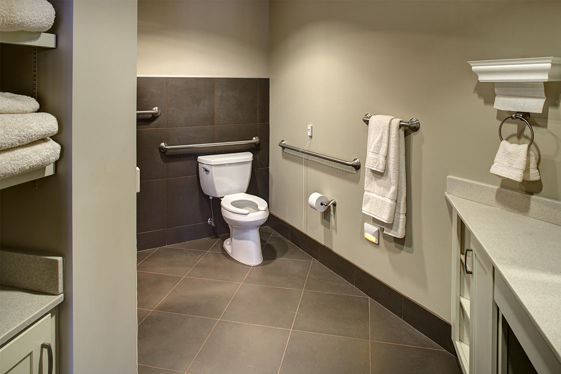 Cohen Rosen House Memory Care Design THW Senior Bathroom