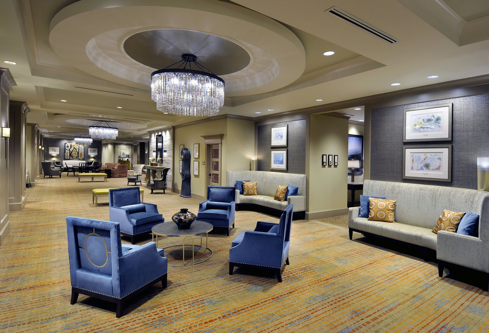 Berman Commons Senior Living Design Georgia Atlanta Dunwoody