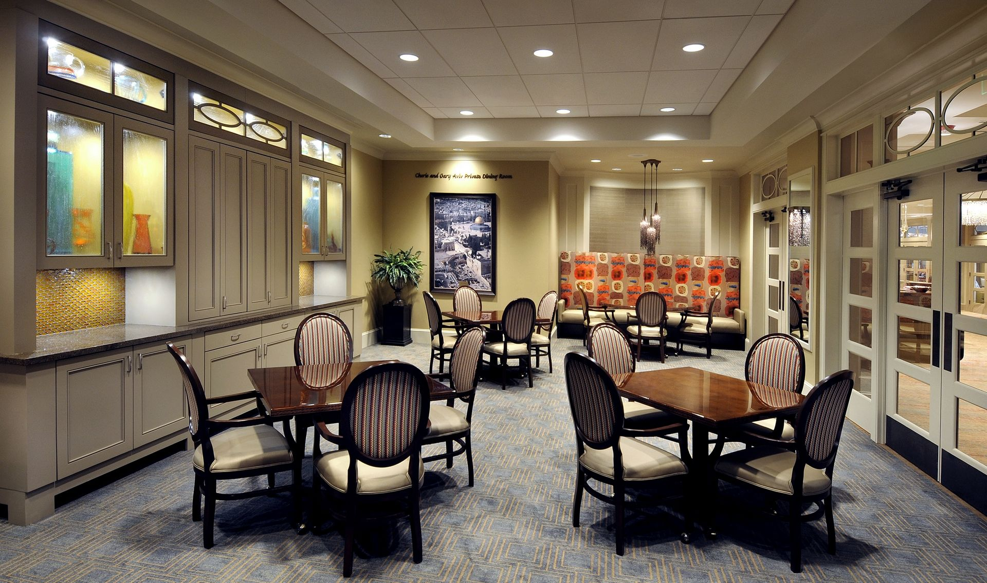 Berman Commons | Assisted Living And Memory Care Design THW Private dining