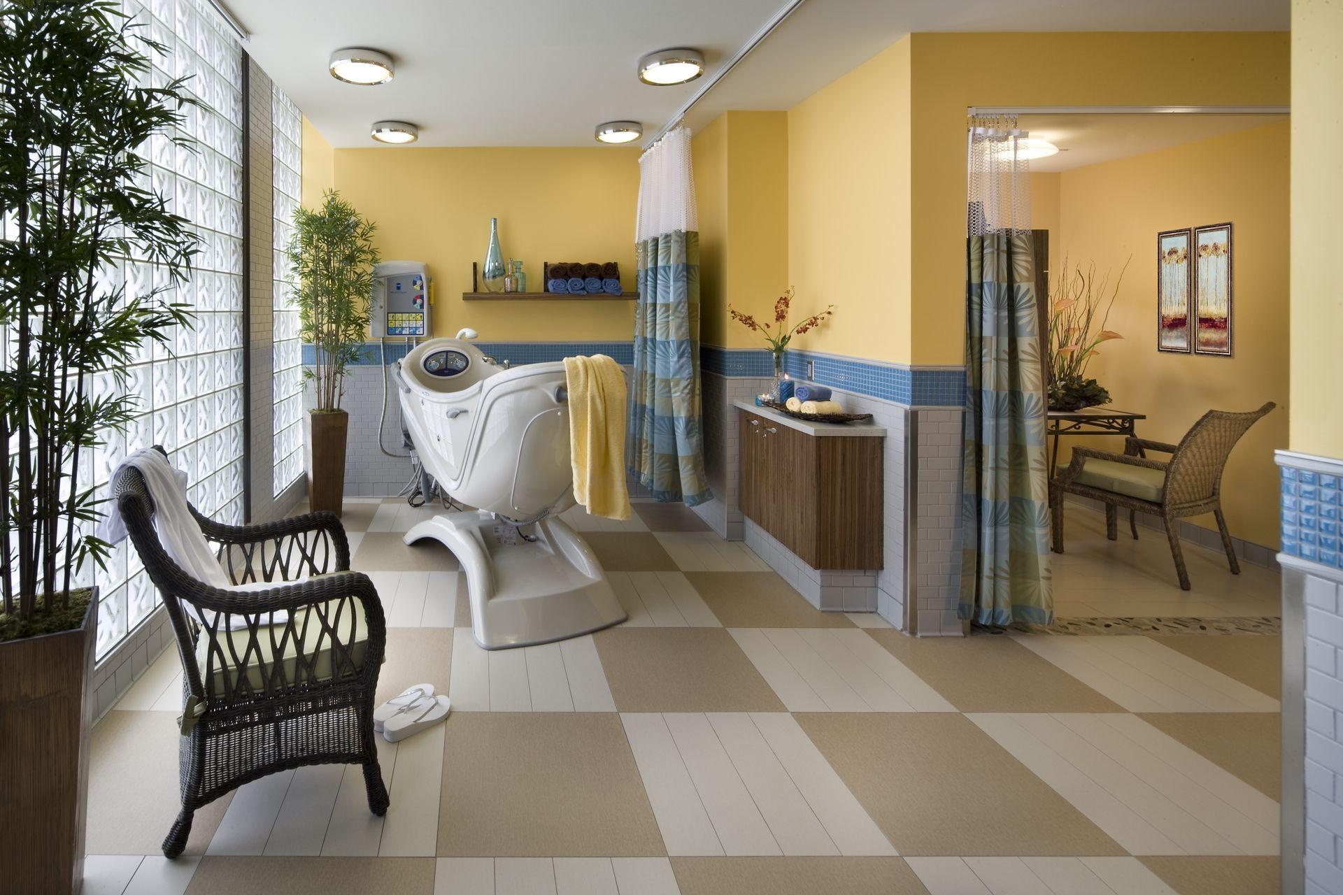 Breman Jewish Home Spa THW Design Healthcare