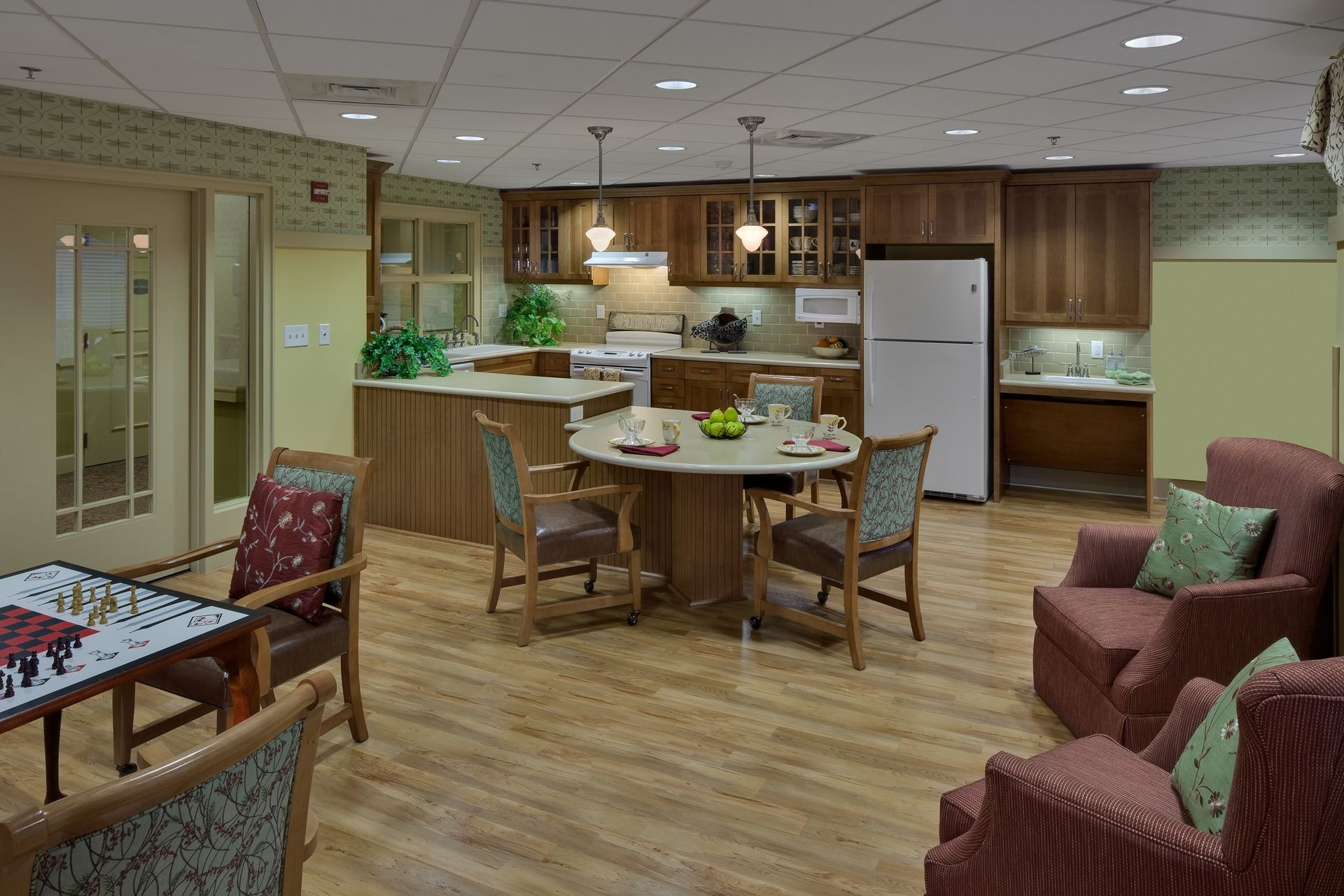 Assisted Living Country Kitchen