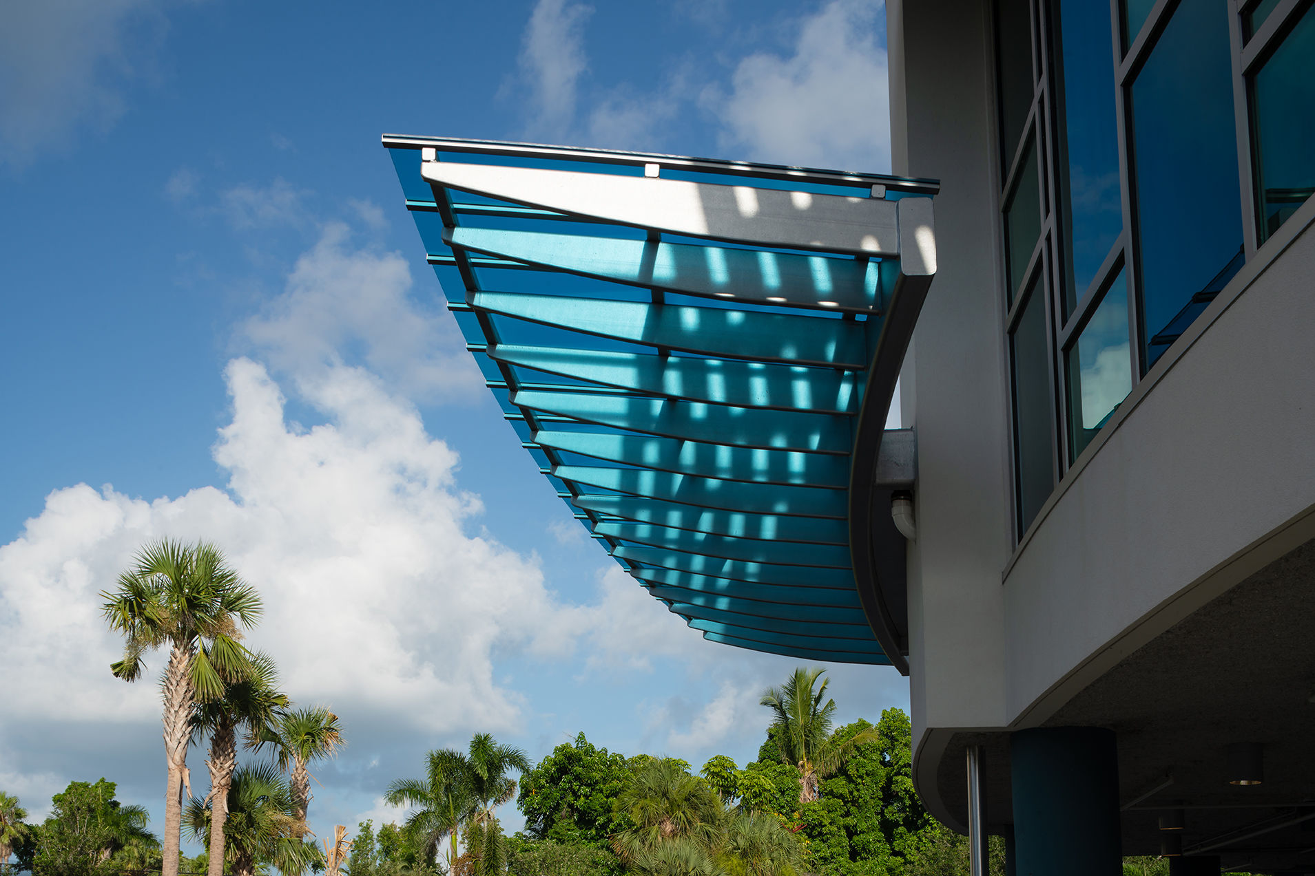 Glenview Exterior Detail Healthcare Florida Senior Living THW Design