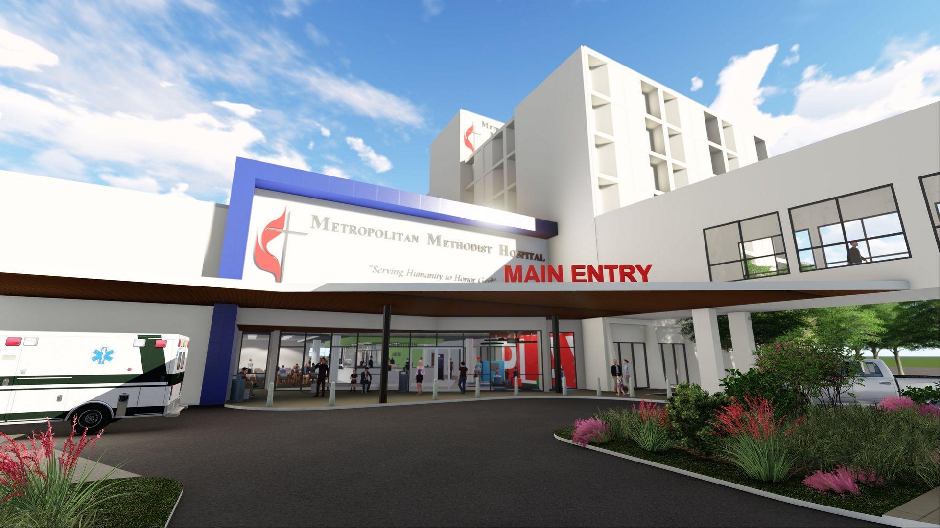 Metropolitan Methodist Hospital Expansion San Antonio