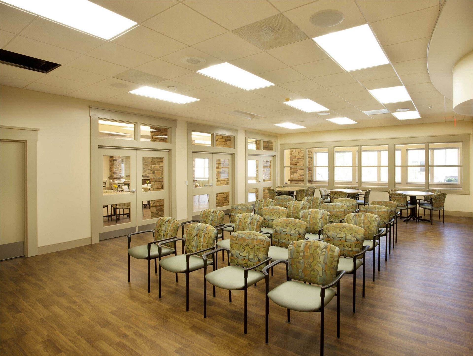 Kahl Home Skilled Nursing Design Gathering Room