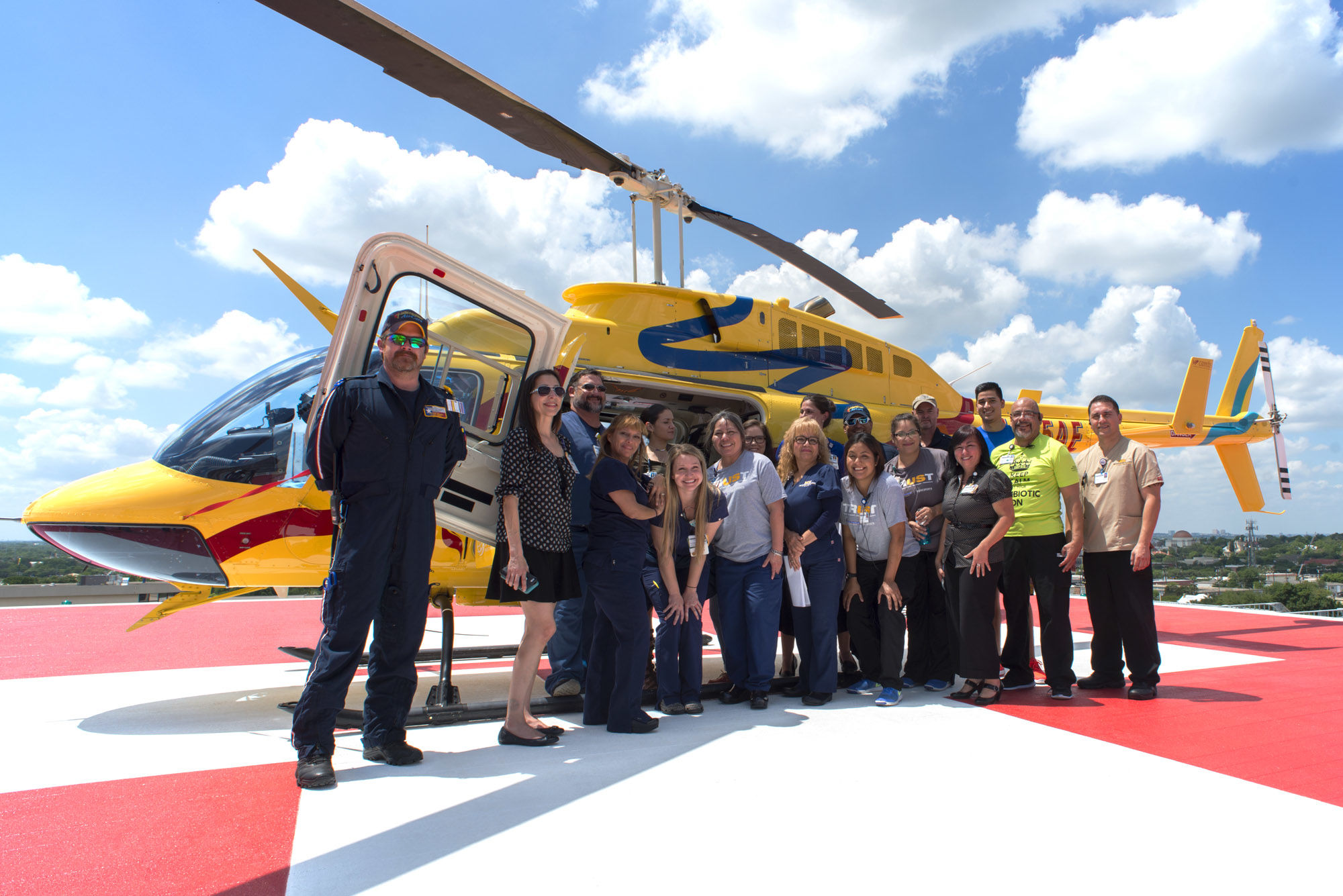 Emergency Services Helipad   San Antonio, TX - THW Design