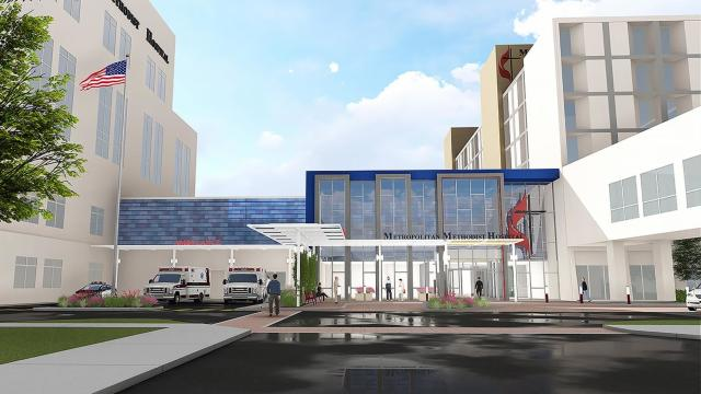 Metropolitan Methodist Hospital Expansion, San Antonio, TX THW Healthcare Design