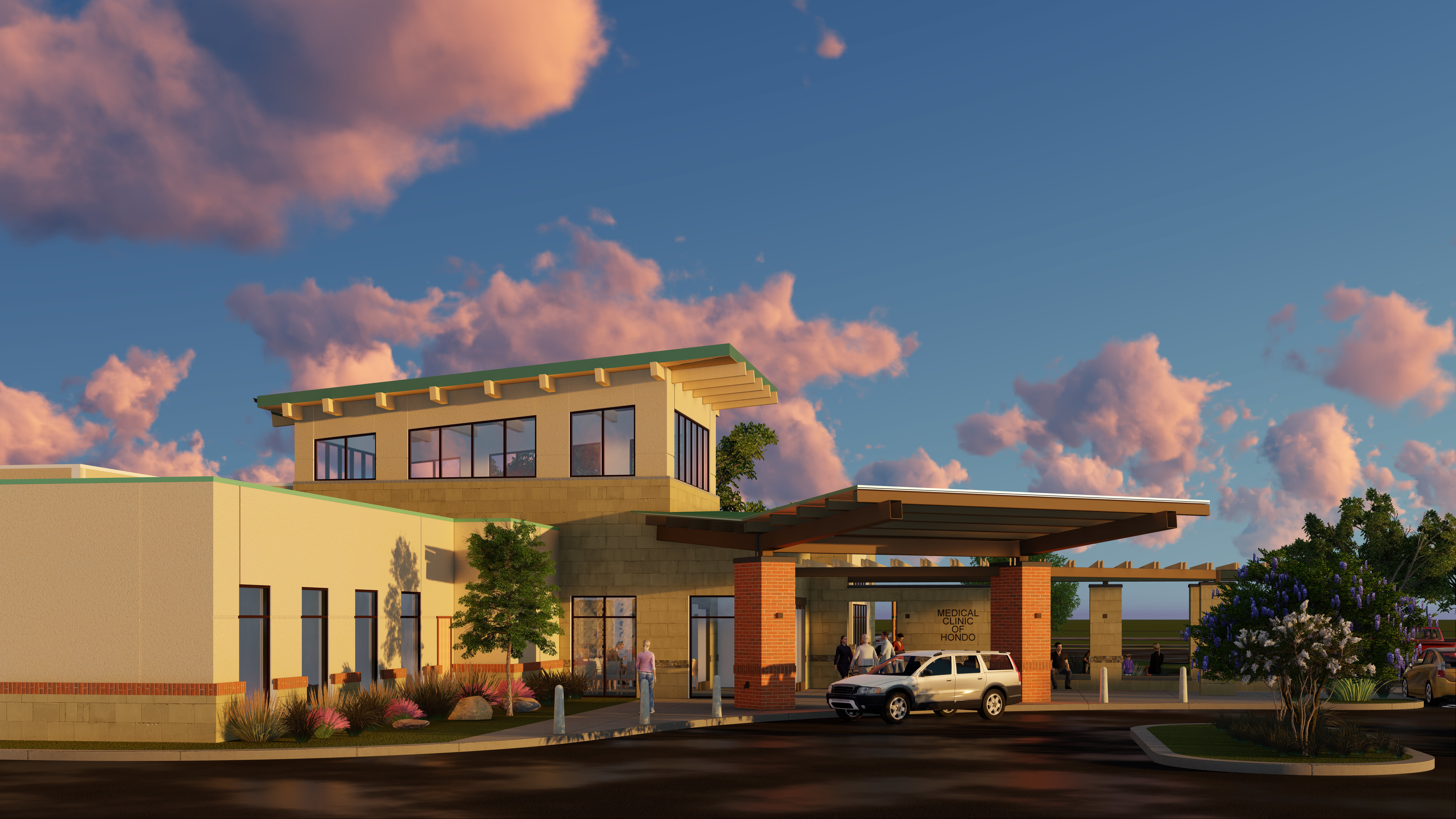 Medina Regional Hospital Clinic Expansion THW Design Architects