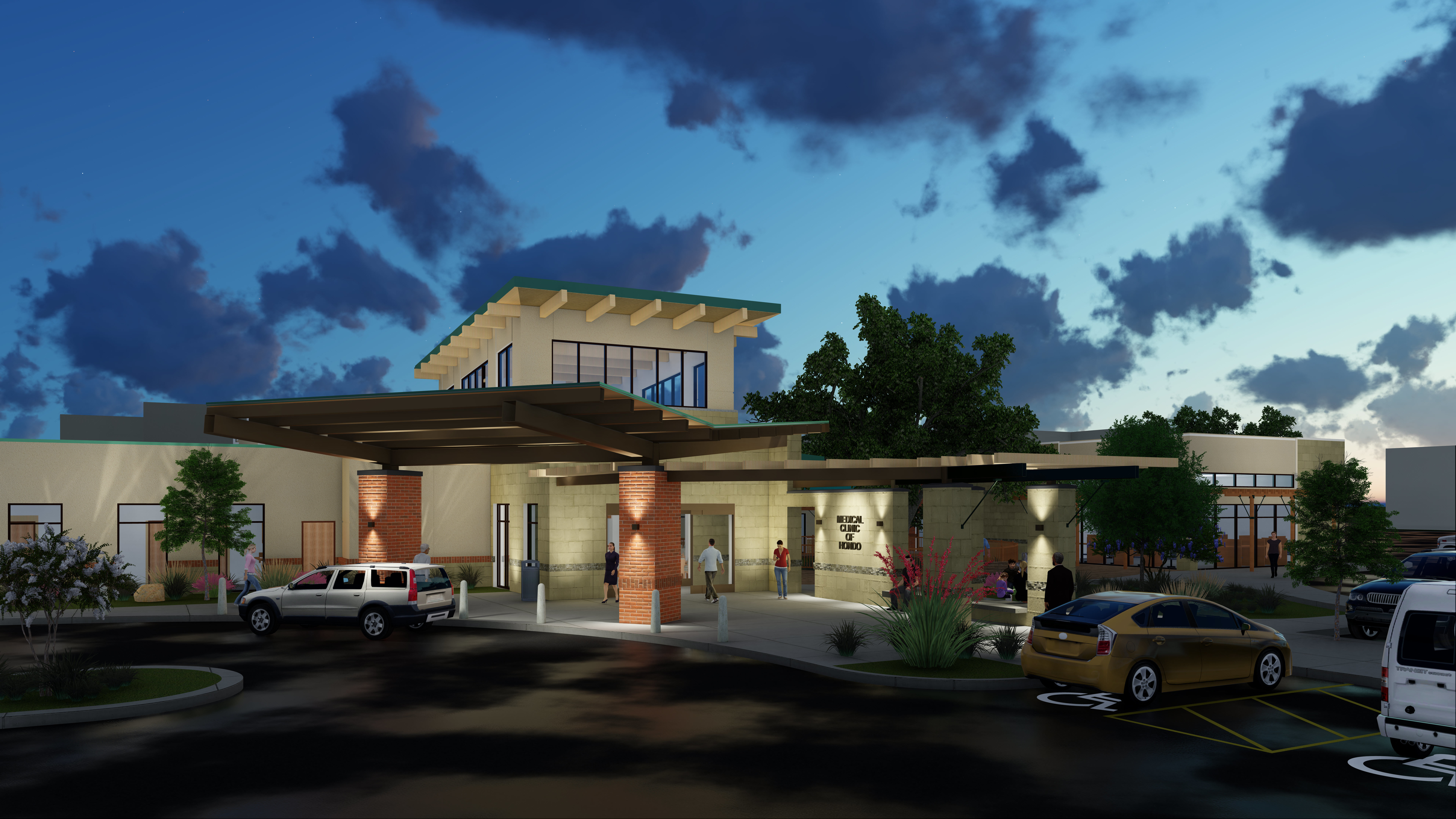 Medina Regional Hospital Clinic Expansion THW Design Healthcare
