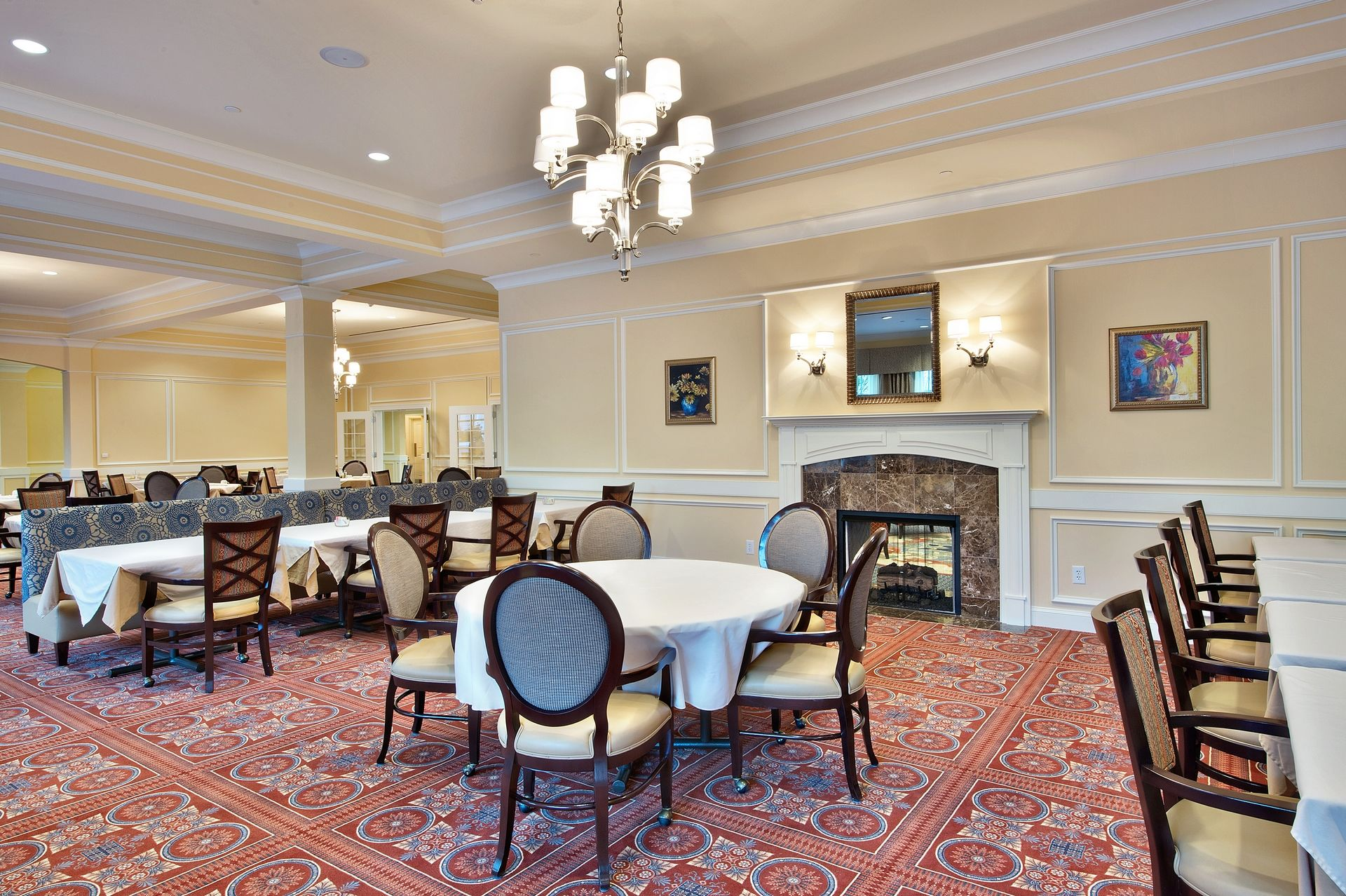 Sterling Estates Assisted Living Design THW Dining