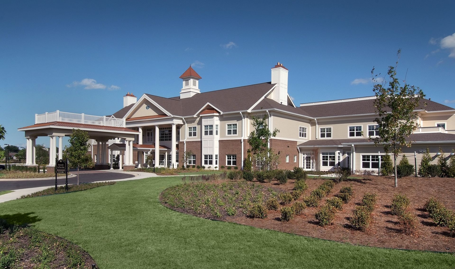 The Oaks of Louisiana CCRC THW Design Front Exterior