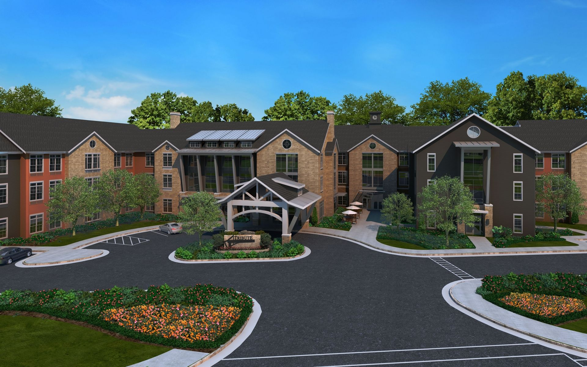 Tribute at Heritage Village, Gainesville, VA | Assisted Living Design THW