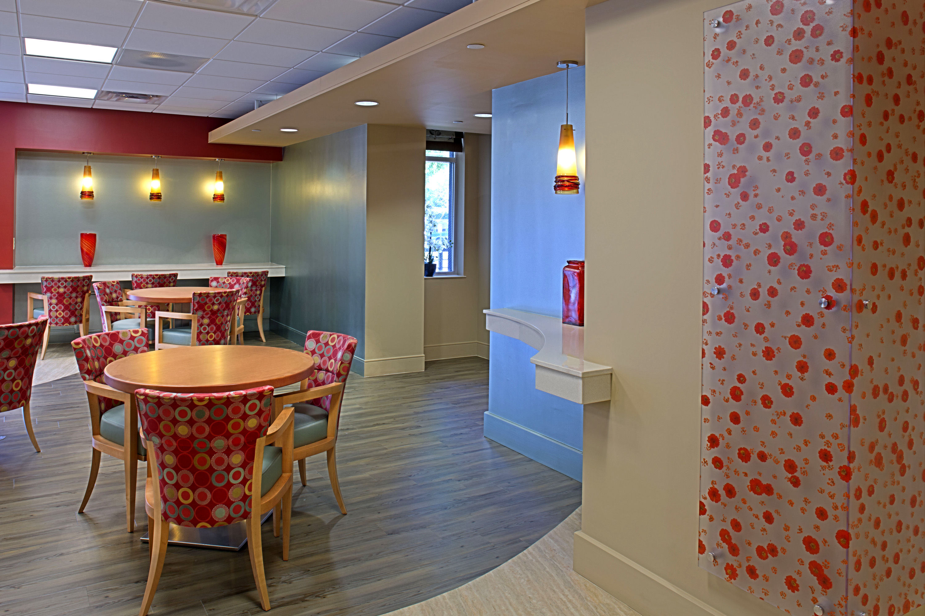 Wasserman Residence Physical Therapy/Rehabilitation Center Senior Living Healthcare Design THW