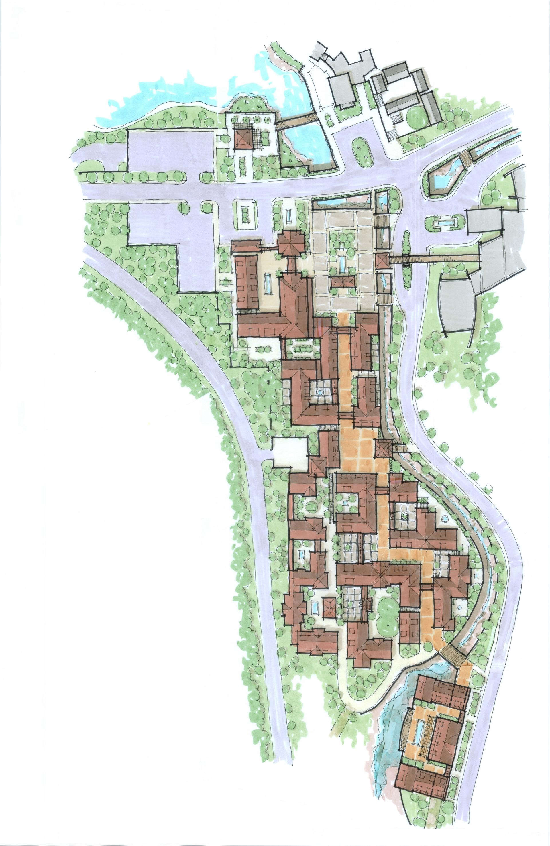China Senior Living Design Master Plan THW Design